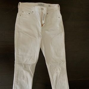 White Lucky Brand Skinny Jeans